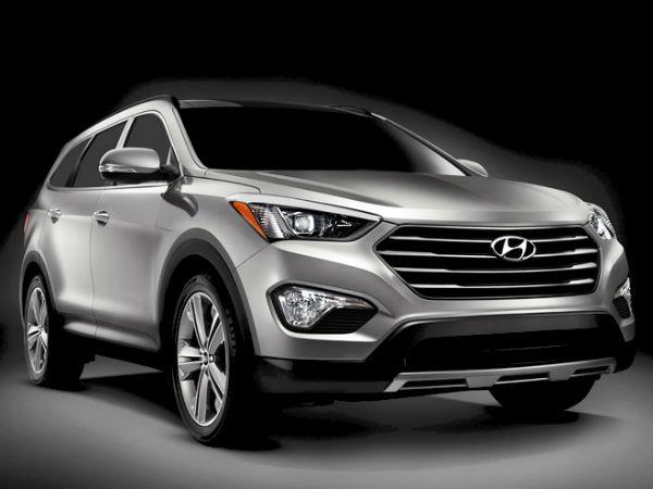 Hyundai Santa Fe 7 Seater Premium Suv Launched In Usa