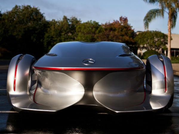 Mercedes Benz Silver Arrow Concept Car 2011 Los Angeles Design