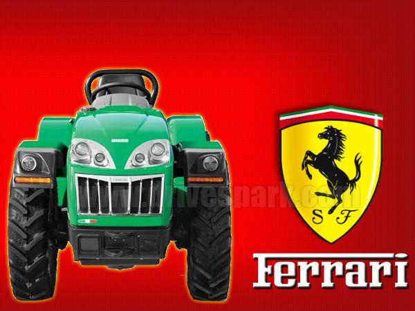 Ferrari Tractors By Escorts Premium Tractors Four