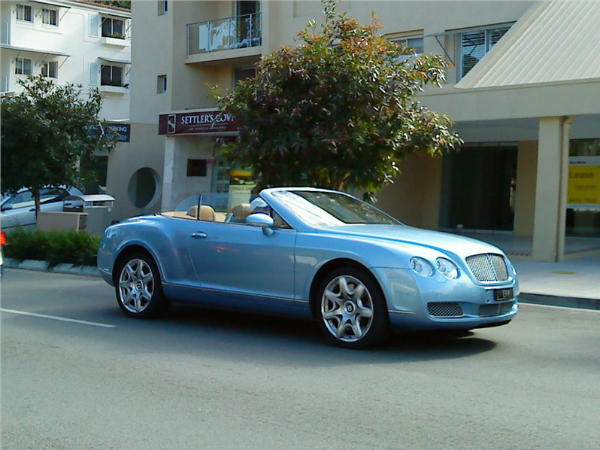 Aj95 Bentley Blue Drive Car: Car Collection - DriveSpark