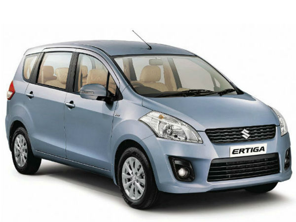 Maruti Suzuki Ertiga CNG Model Expected