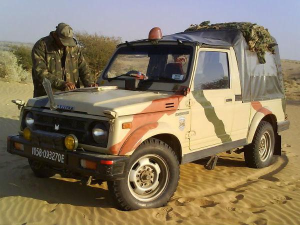 Maruti Suzuki Old Jeep