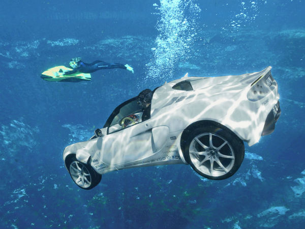 Rinspeed Squba World S First Underwater Car Drivespark