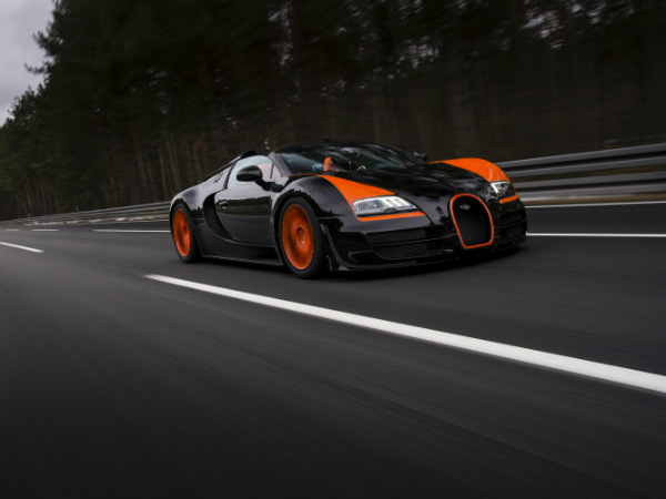 bugatti veyron grand vitesse record car drivespark. Black Bedroom Furniture Sets. Home Design Ideas