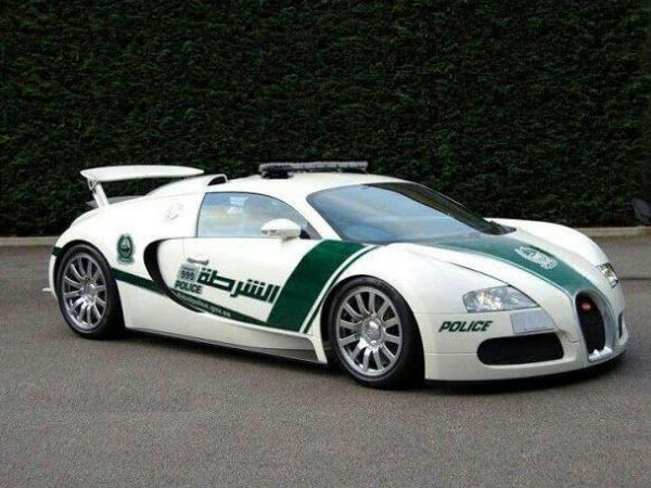 Dubai Police Dept. Adds Bugatti Veyron To Fleet?