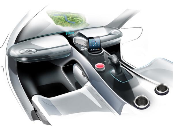 Mercedes Benz Vision Golf Cart Concept Drivespark News