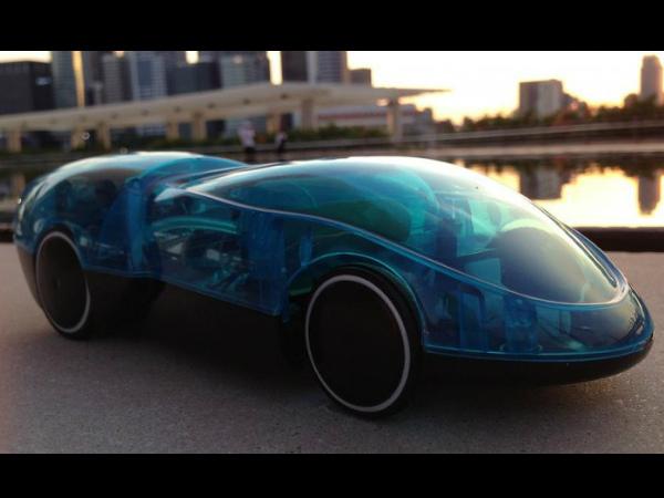 i h2go iphone controlled toy car runs on hydrogen drivespark. Black Bedroom Furniture Sets. Home Design Ideas