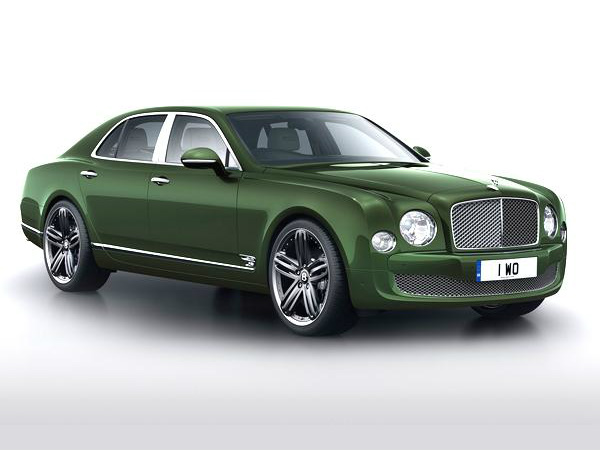 Bentley Le Mans Limited Edition Mulsanne At Pebble Beach