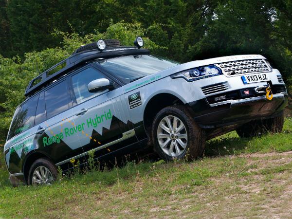 range rover range rover sport hybrids revealed 2013 silk trail drivespark news. Black Bedroom Furniture Sets. Home Design Ideas
