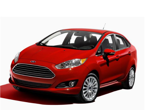 ford fiesta with european face expected next year drivespark. Black Bedroom Furniture Sets. Home Design Ideas