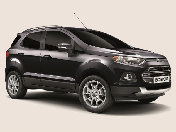 ford ecosport panther black titanium limited edition appears in europe drivespark news. Black Bedroom Furniture Sets. Home Design Ideas