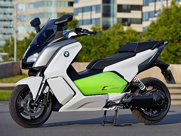 frankfurt bmw motorrad c evolution electric scooter production spec drivespark. Black Bedroom Furniture Sets. Home Design Ideas