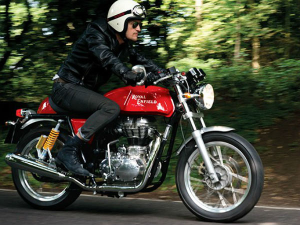 Royal Enfield Continental GT Cafe Racer UK Launch