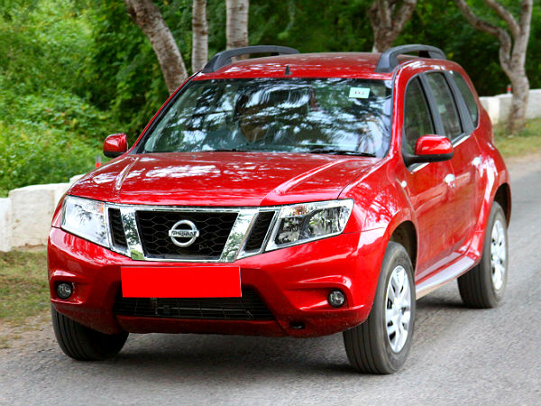 Nissan Terrano Front
