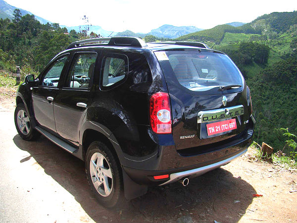 Renault Duster Rear
