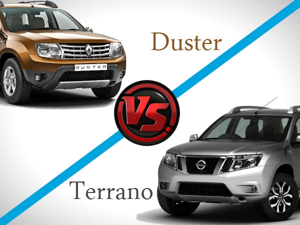 Renault Duster & Nissan Terrano: A Comparison