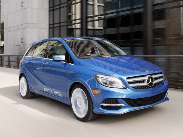 mercedes benz b class electric drive to take on bmw i3 drivespark news. Black Bedroom Furniture Sets. Home Design Ideas