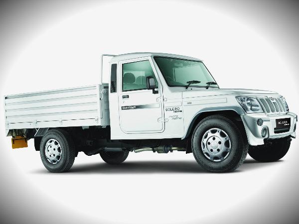 Mahindra Bolero Pick Up Flat Bed With Micro Hybrid Launch