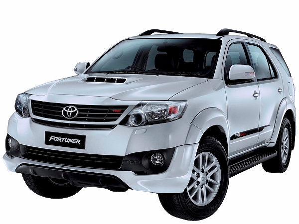 Toyota Fortuner Trd Sportivo Limited Edition Price Of Inr
