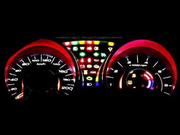 cars dash lights