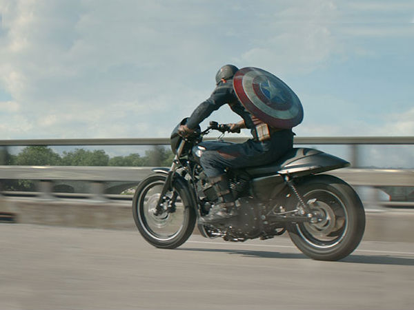Harley Davidson Street 750 In Captain America: The Winter Soldier