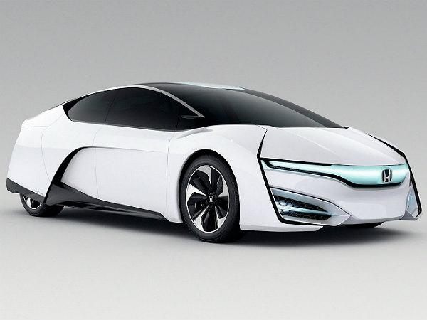 tokyo motor show 2013 honda fcev hydrogen powered car of