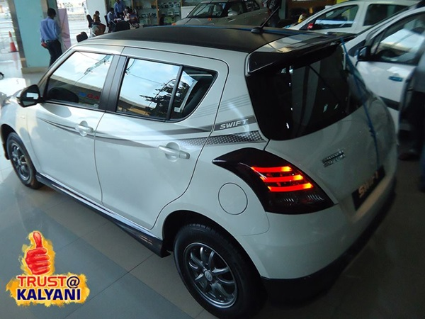 Maruti Swift Platinum Edition By Kalyani Motors Drivespark News