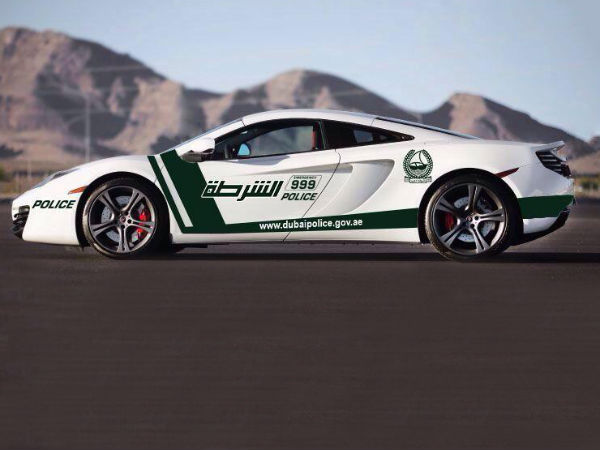 Dubai Police Mclaren Super Car Fleet Joins The List