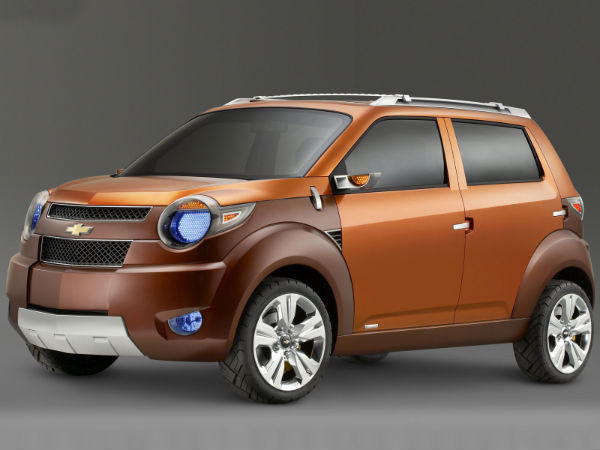 chevrolet adra compact suv concept for auto expo 2014 drivespark news. Black Bedroom Furniture Sets. Home Design Ideas