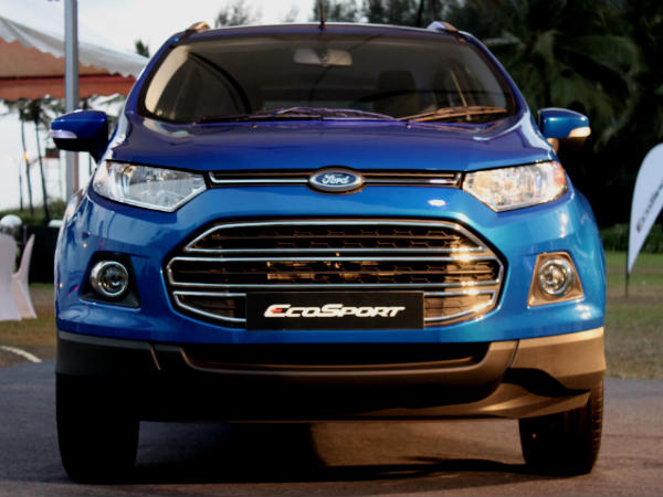 Wait Longer For A Ford EcoSport; No Info On Price Cut.