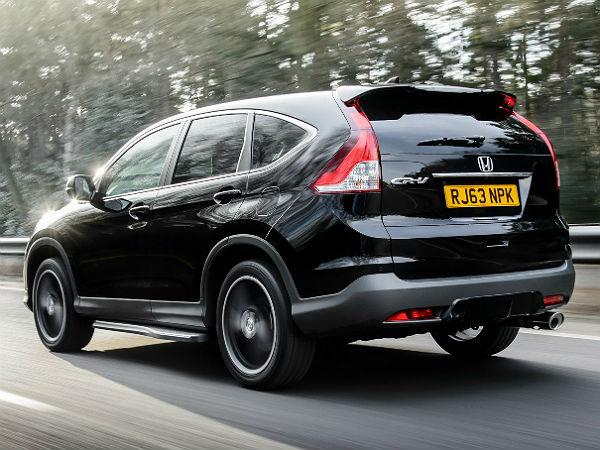 honda cr v black white edition for the uk drivespark news