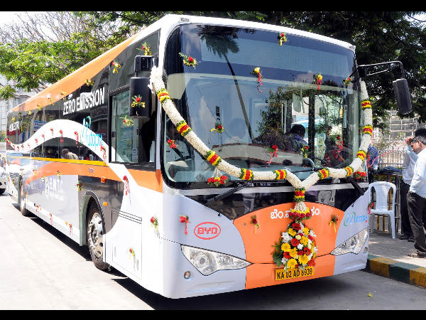 BMTC Electric Bus Service In Bangalore Is The First In ...