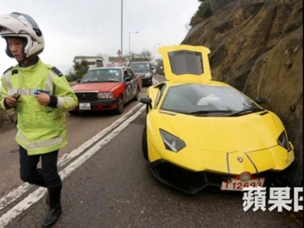 50th Anniversary Lamborghini Aventador Crashed In Hong Kong