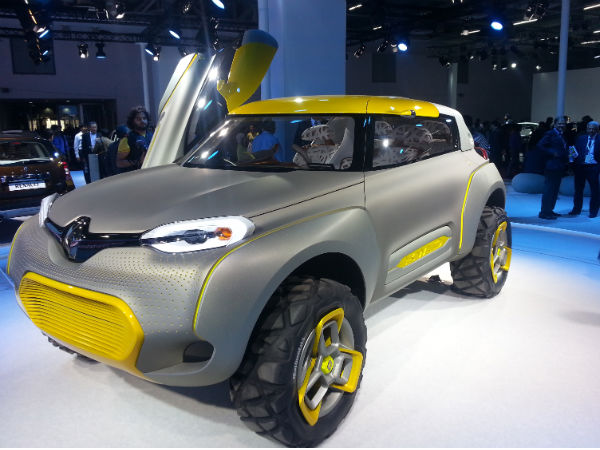 renault to launch new small car in india next year drivespark news. Black Bedroom Furniture Sets. Home Design Ideas