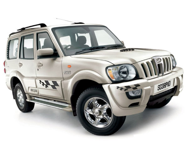 Mahindra Scorpio Bullet Proof Available On Snapdeal