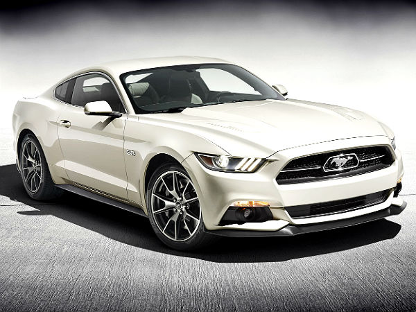 Ford Mustang 50th Anniversary Edition New York Auto Show