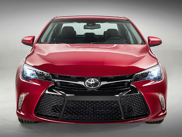 New Toyota Camry At New York Auto Show