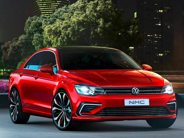 Volkswagens New Midsize Coupe Concept At Beijing Auto Show