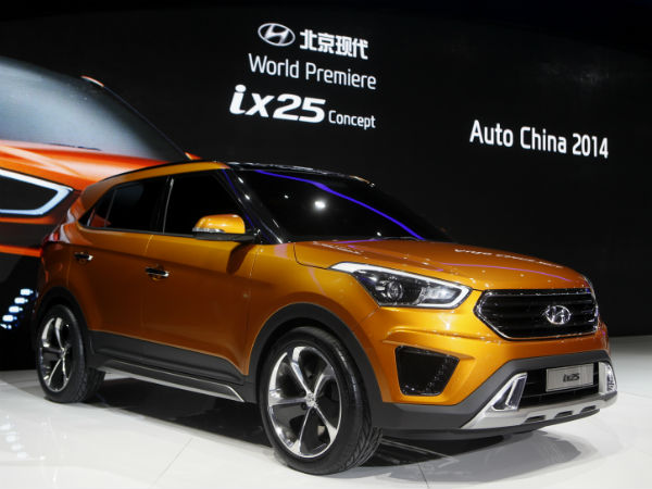 Hyundai Ix 25 Revealed At Beijing Motor Show