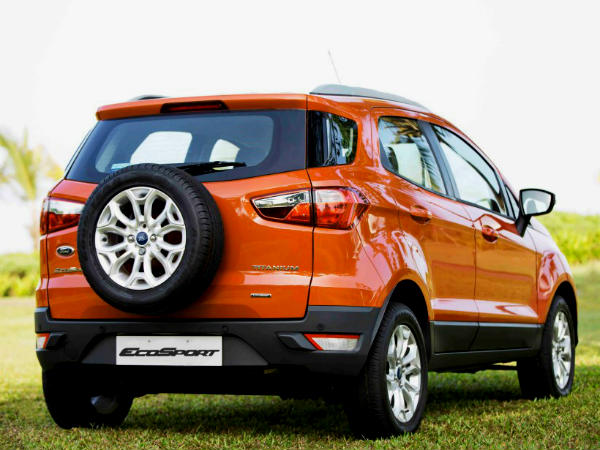 ford ecosport bookings resume in india drivespark news. Black Bedroom Furniture Sets. Home Design Ideas