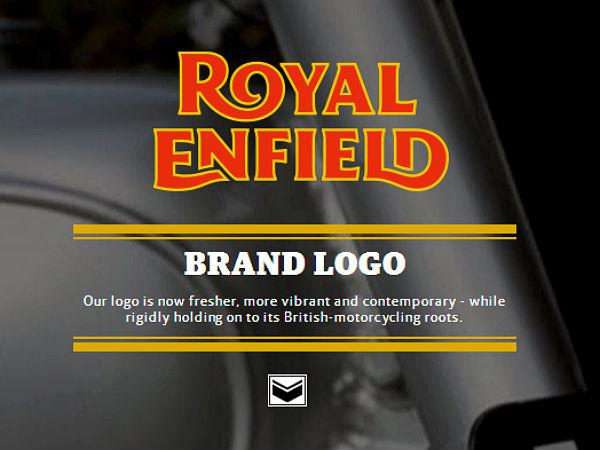 royal enfield  new logo  crest  monogram usher in change in branding