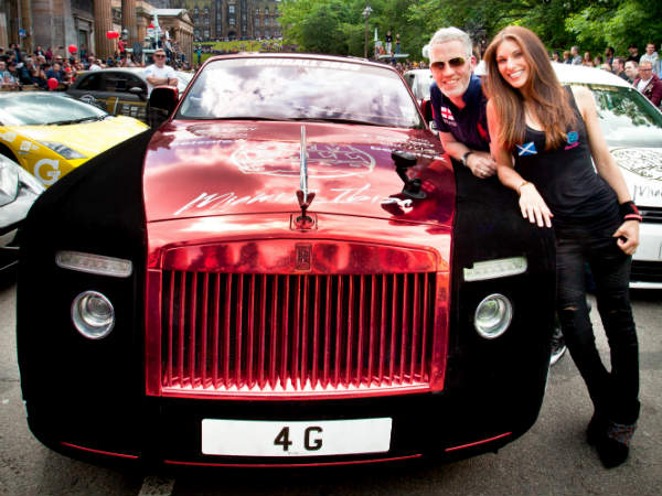 50 Random Acts By Rolls Royce Owner For Charity