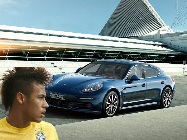 Neymar Jr And His Motor Vehicle Collection Drivespark News