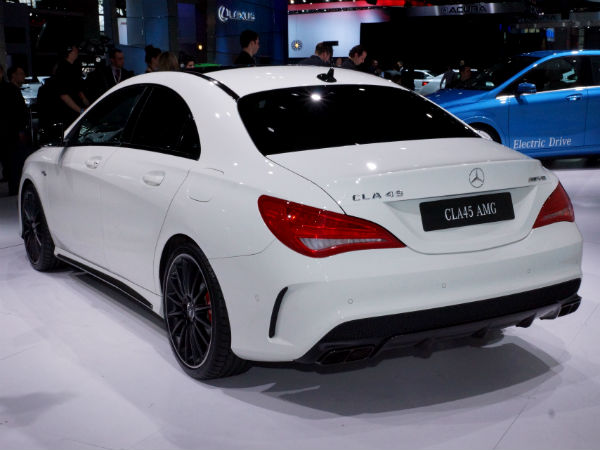 Mercedes benz to launch cla45 amg in india on 22nd july for Mercedes benz prices in india