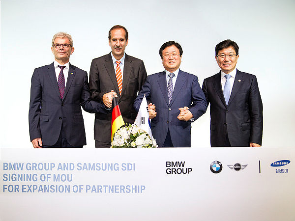 Samsung and BMW Sign MoU For Supply Of Batteries ...