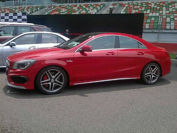 Mercedes Benz Cla 45 Amg Launched In India Drivespark News