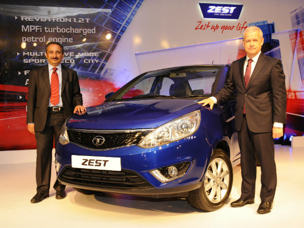 tata zest launched today in delhi
