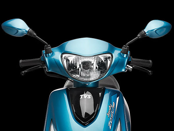 2014 TVS Scooty Zest 110: Headlight