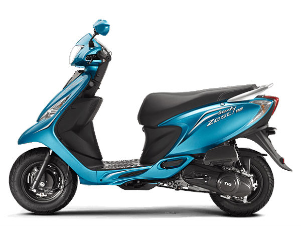 2014 TVS Scooty Zest 110: Price and Options