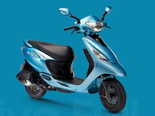 Tvs Launch New Scooty Zest 110cc Scooter Drivespark News
